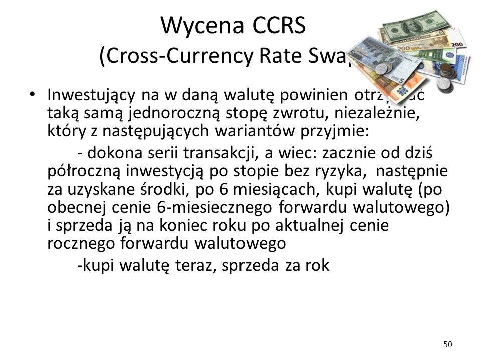 Wycena CCRS (Cross-Currency Rate Swap)