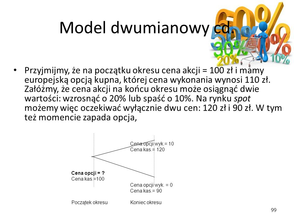 Model dwumianowy cd.