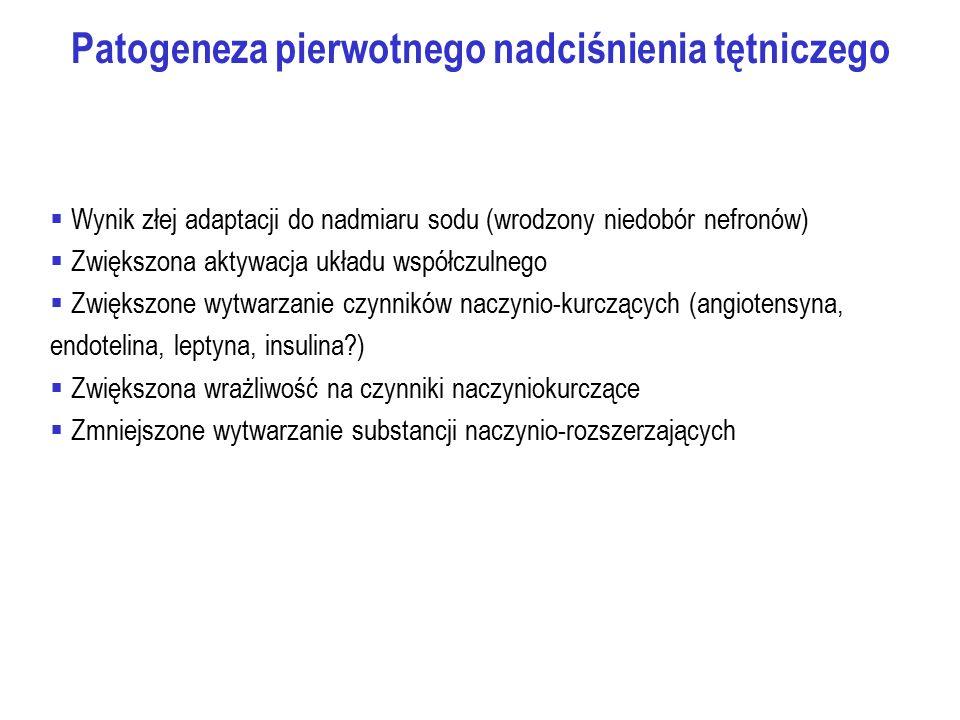 Patogeneza pierwotnego nadciśnienia tętniczego