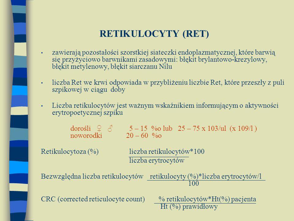 RETIKULOCYTY (RET)