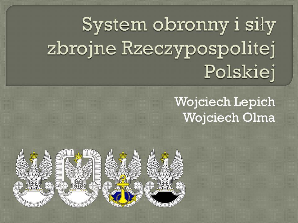 System obronny i siły zbrojne Rzeczypospolitej Polskiej