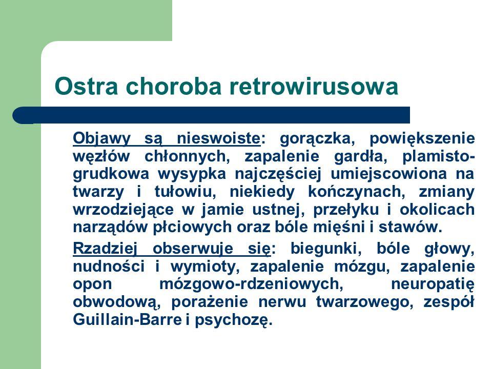 Ostra choroba retrowirusowa