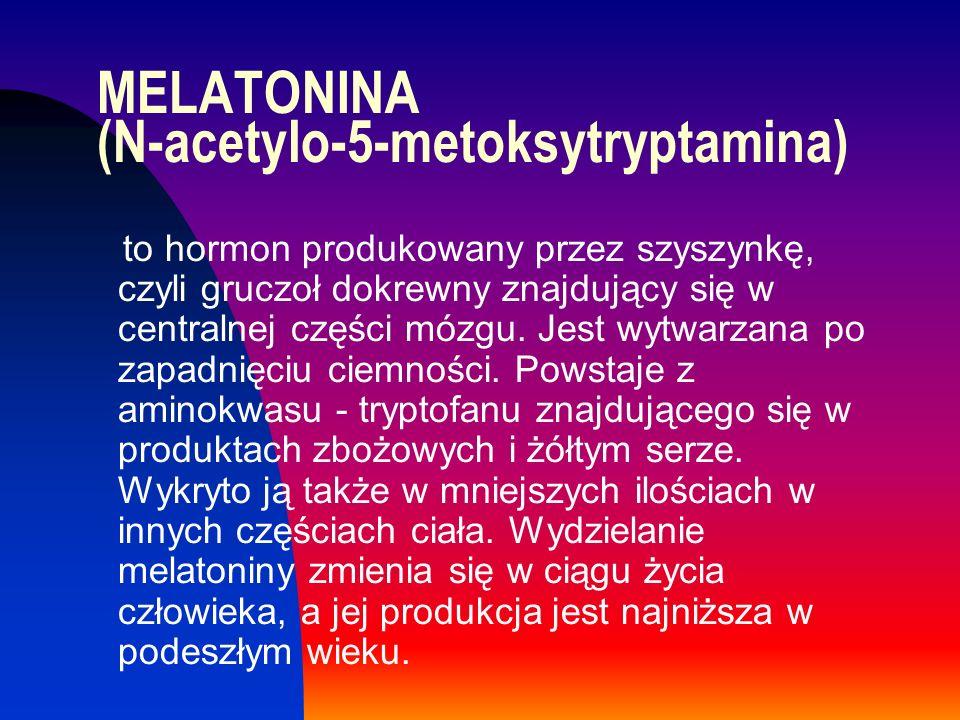 MELATONINA (N-acetylo-5-metoksytryptamina)
