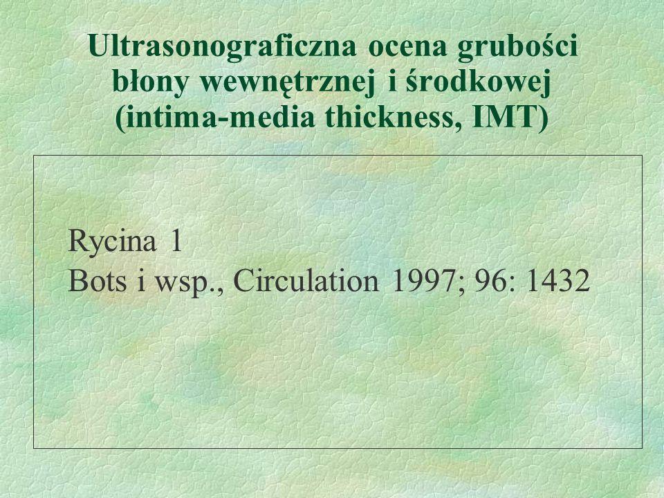 Bots i wsp., Circulation 1997; 96: 1432