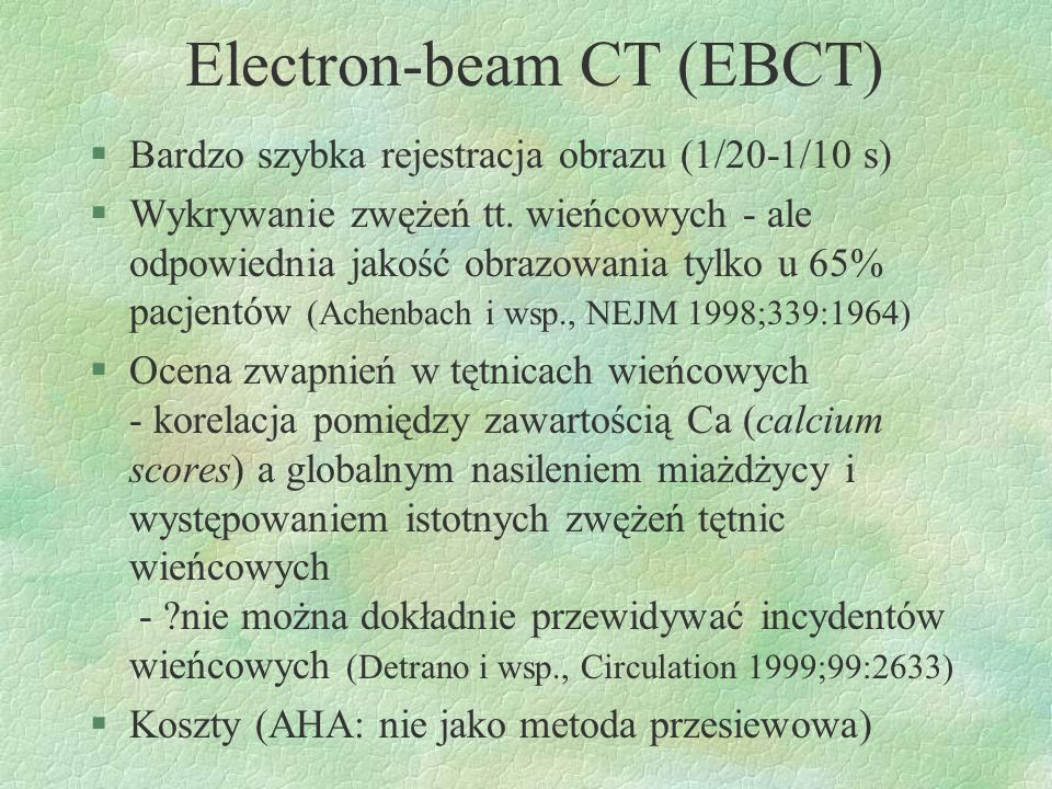 Electron-beam CT (EBCT)