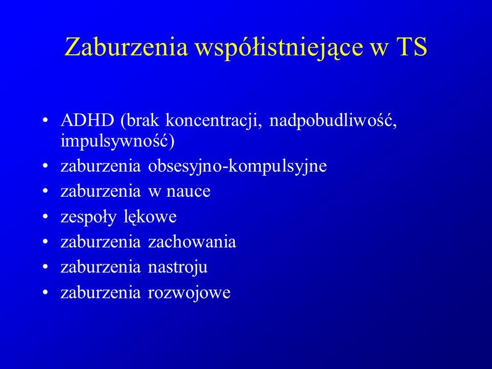 Zaburzenia współistniejące w TS