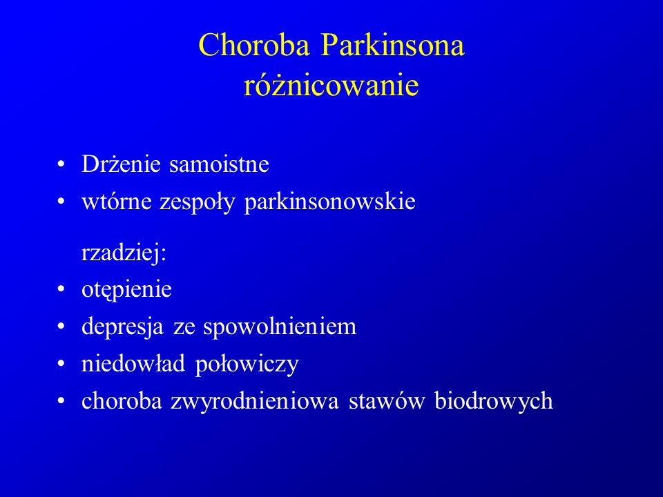 Choroba Parkinsona różnicowanie