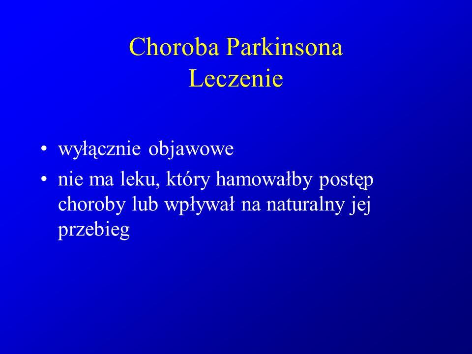 Choroba Parkinsona Leczenie
