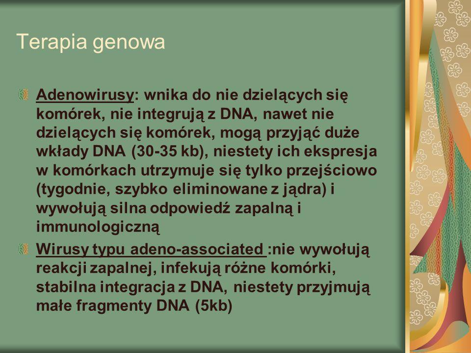 Terapia genowa