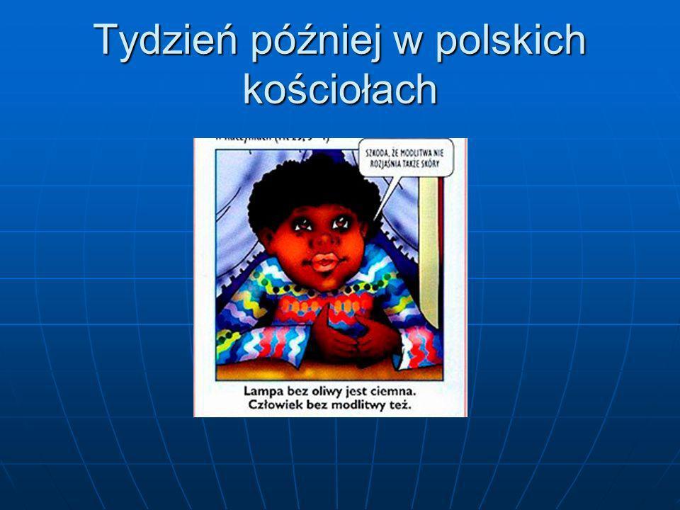Tydzień później w polskich kościołach