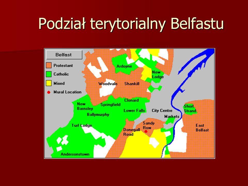 Podział terytorialny Belfastu