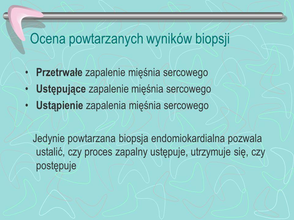Ocena powtarzanych wyników biopsji