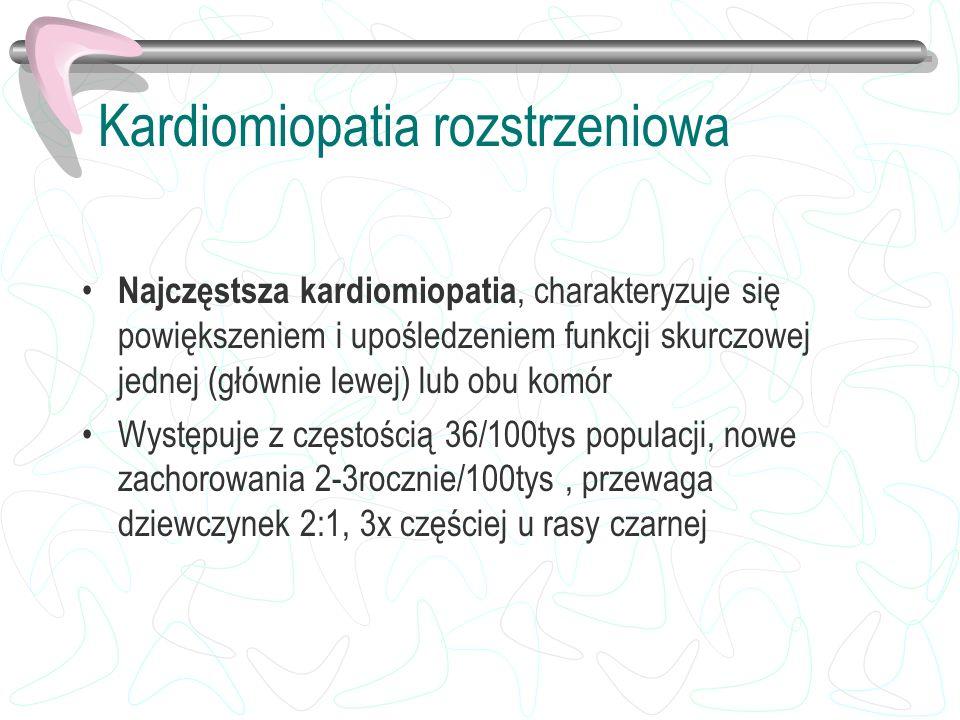 Kardiomiopatia rozstrzeniowa