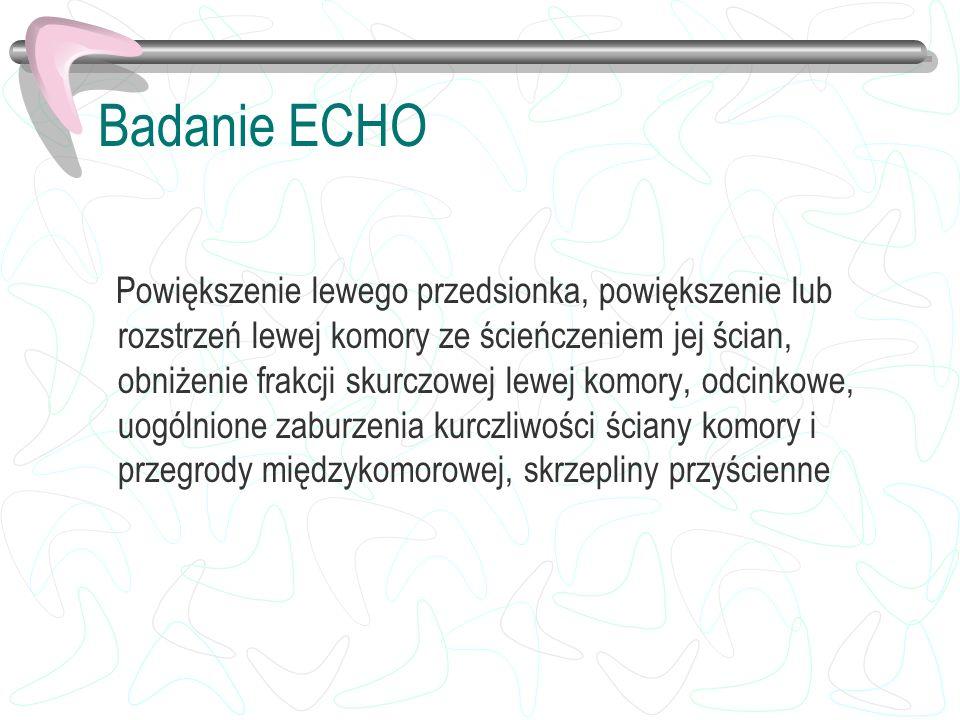 Badanie ECHO