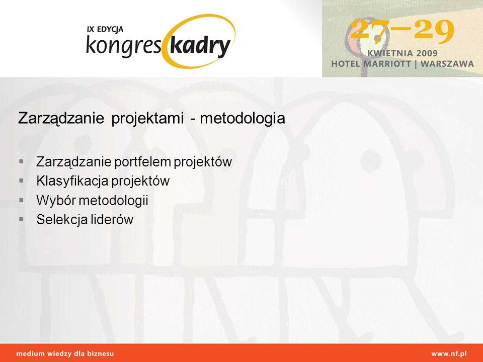 Zarządzanie projektami - metodologia
