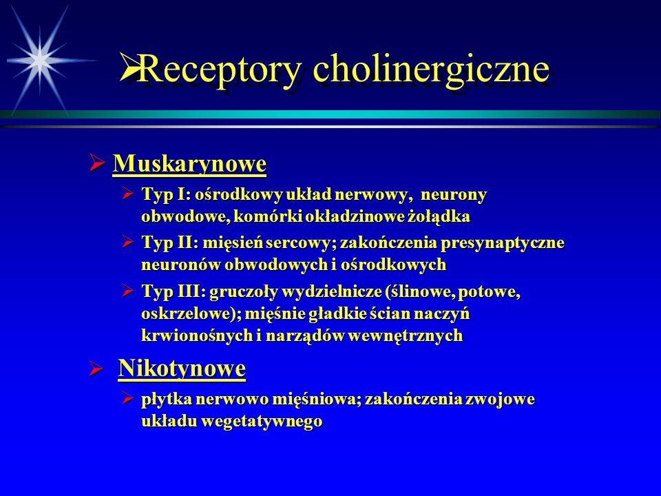 Receptory cholinergiczne