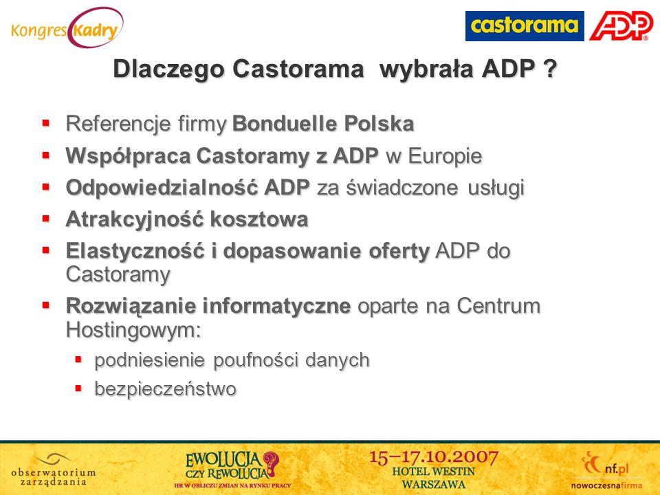 Dlaczego Castorama wybrała ADP