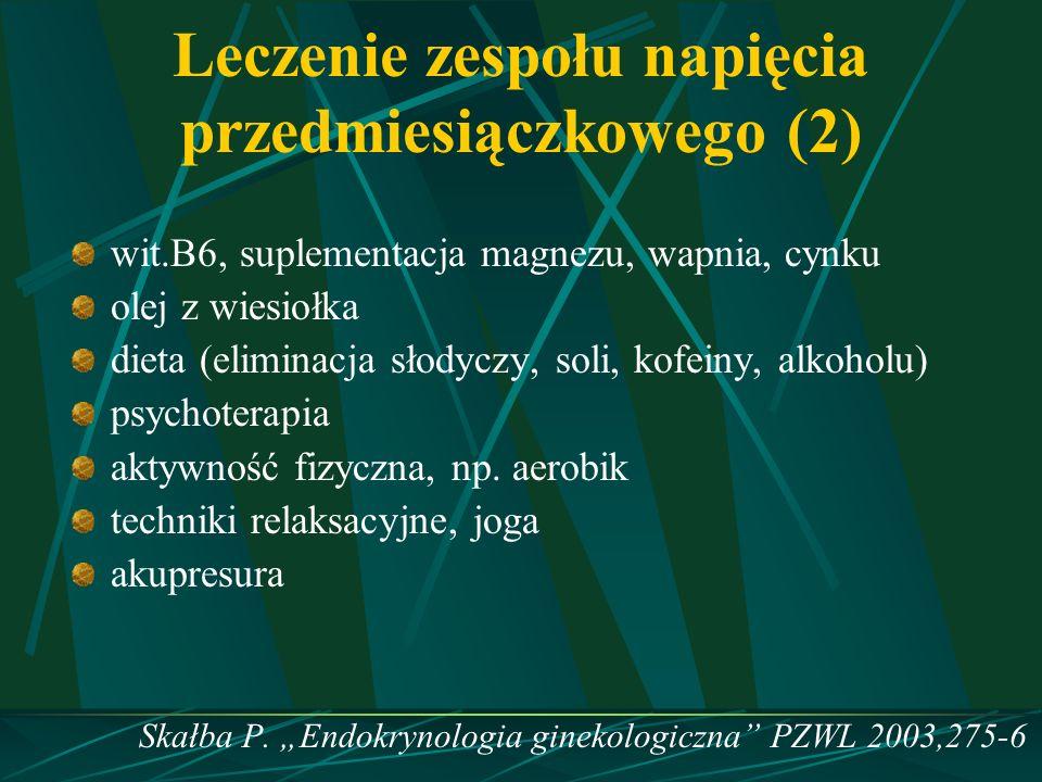Leczenie zespołu napięcia przedmiesiączkowego (2)