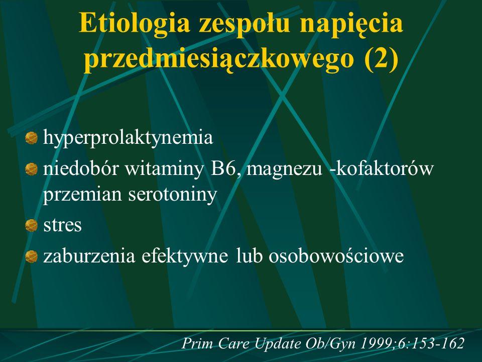 Etiologia zespołu napięcia przedmiesiączkowego (2)