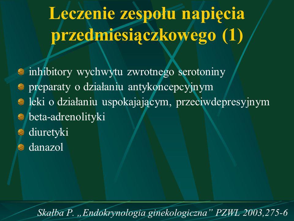Leczenie zespołu napięcia przedmiesiączkowego (1)