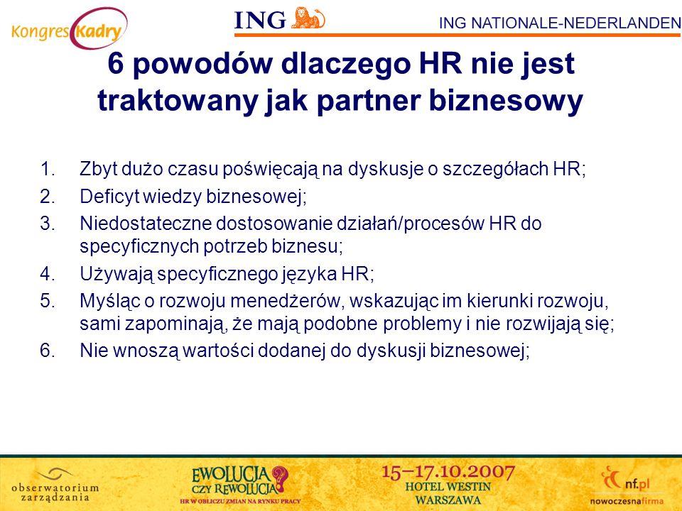 6 powodów dlaczego HR nie jest traktowany jak partner biznesowy