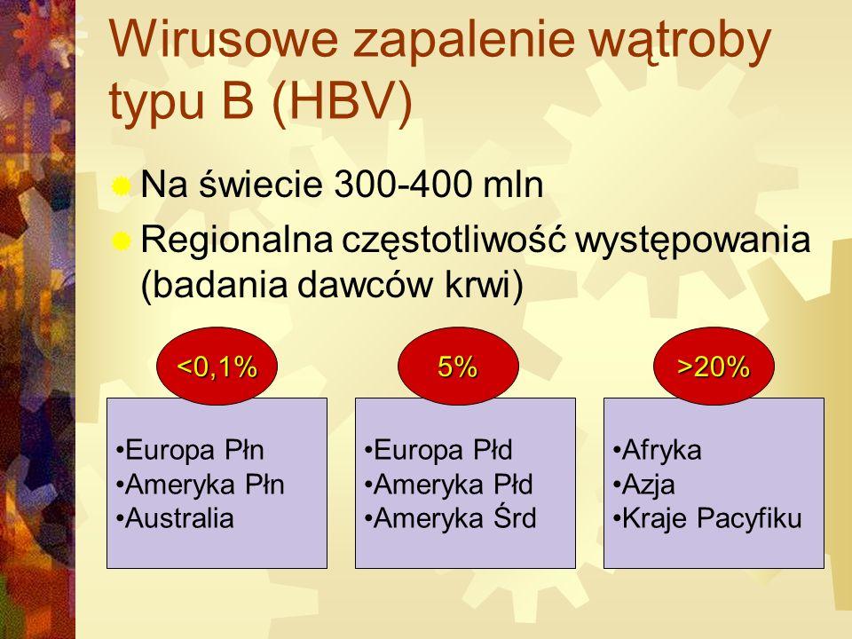 Wirusowe zapalenie wątroby typu B (HBV)