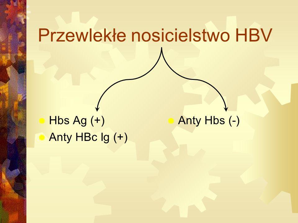 Przewlekłe nosicielstwo HBV