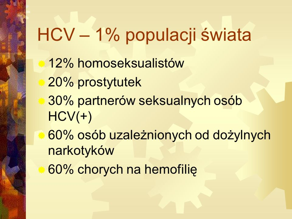 HCV – 1% populacji świata