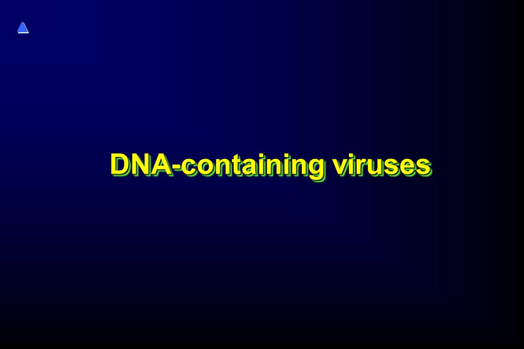 DNA-containing viruses