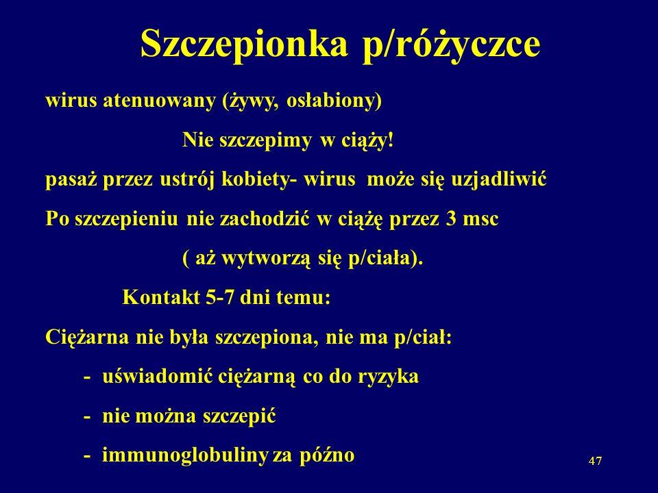 Szczepionka p/różyczce