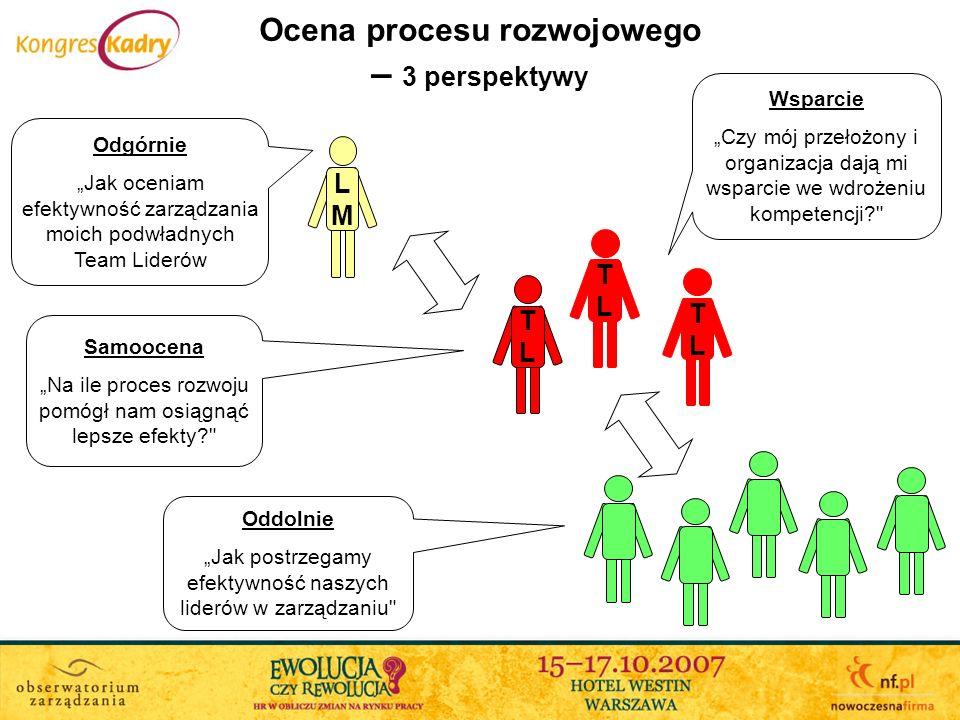 Ocena procesu rozwojowego – 3 perspektywy