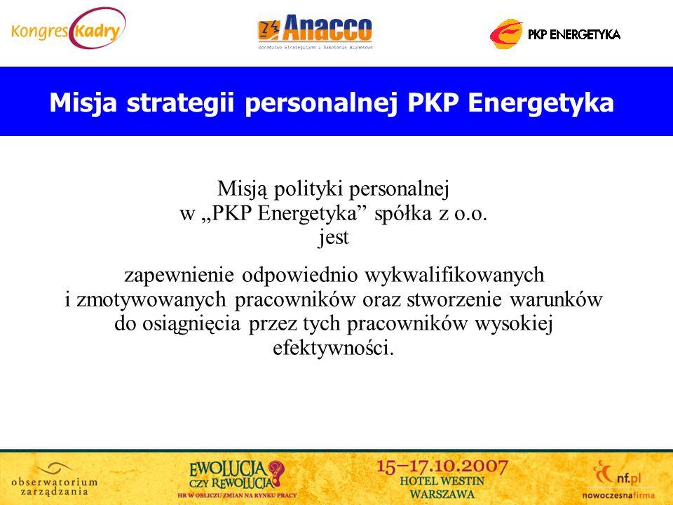 Misja strategii personalnej PKP Energetyka