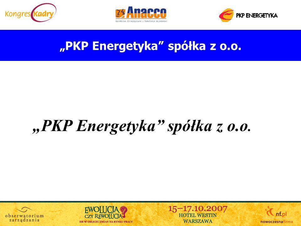 """""""PKP Energetyka spółka z o.o. """"PKP Energetyka spółka z o.o."""