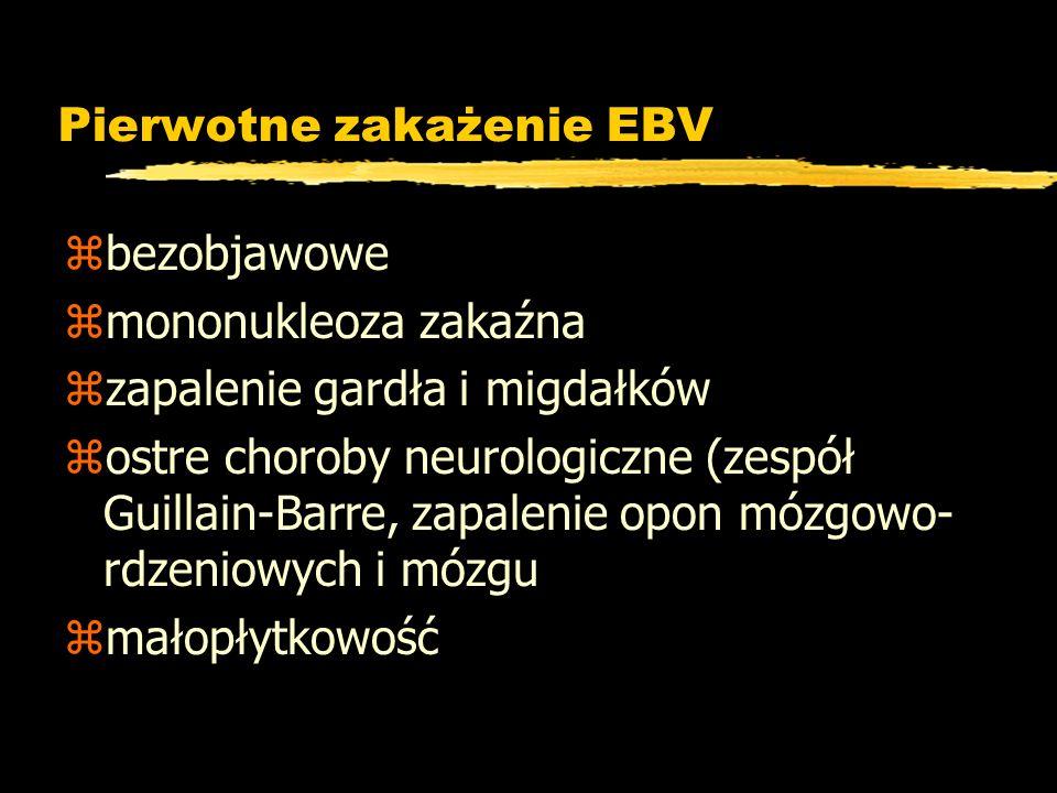 Pierwotne zakażenie EBV