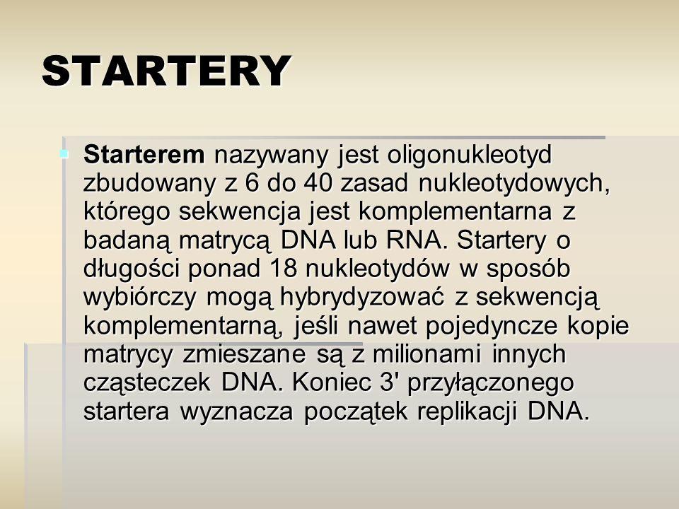 STARTERY