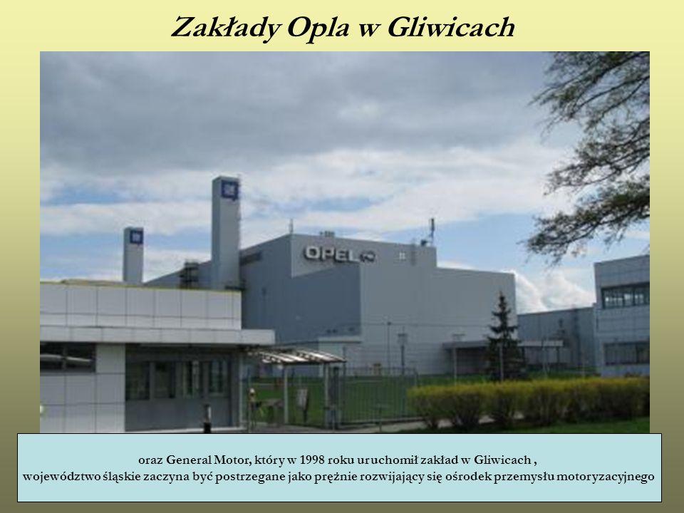 Zakłady Opla w Gliwicach