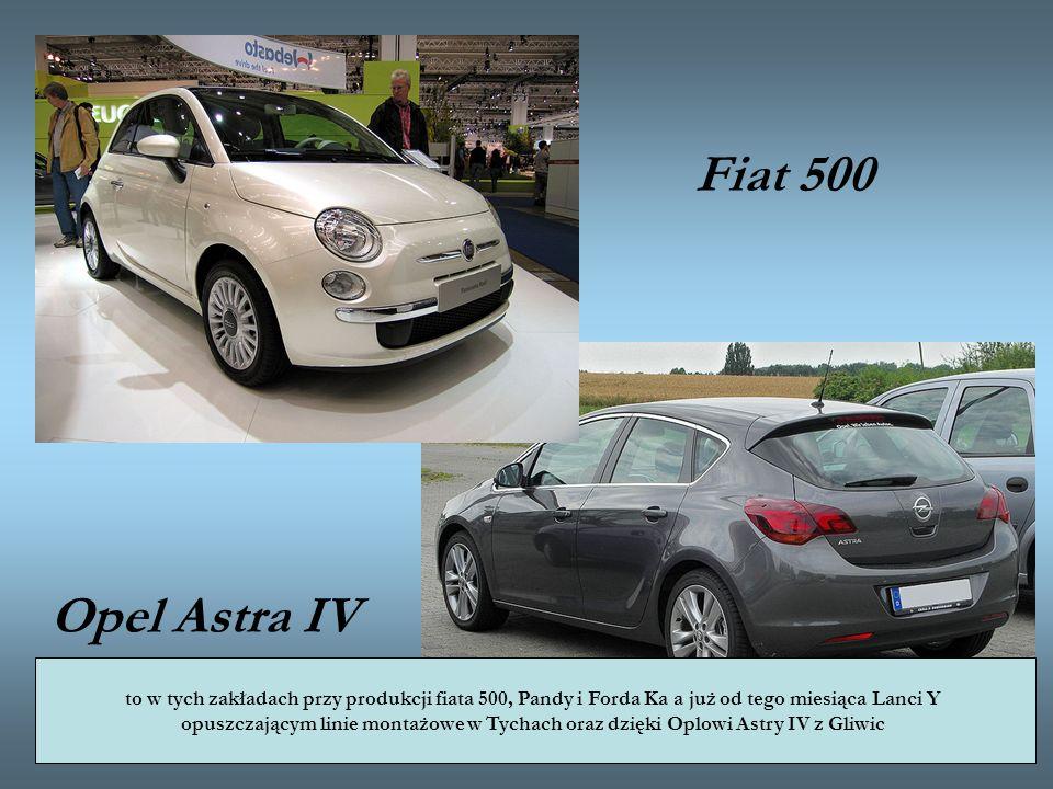 Fiat 500 Opel Astra IV to w tych zakładach przy produkcji fiata 500, Pandy i Forda Ka a już od tego miesiąca Lanci Y.