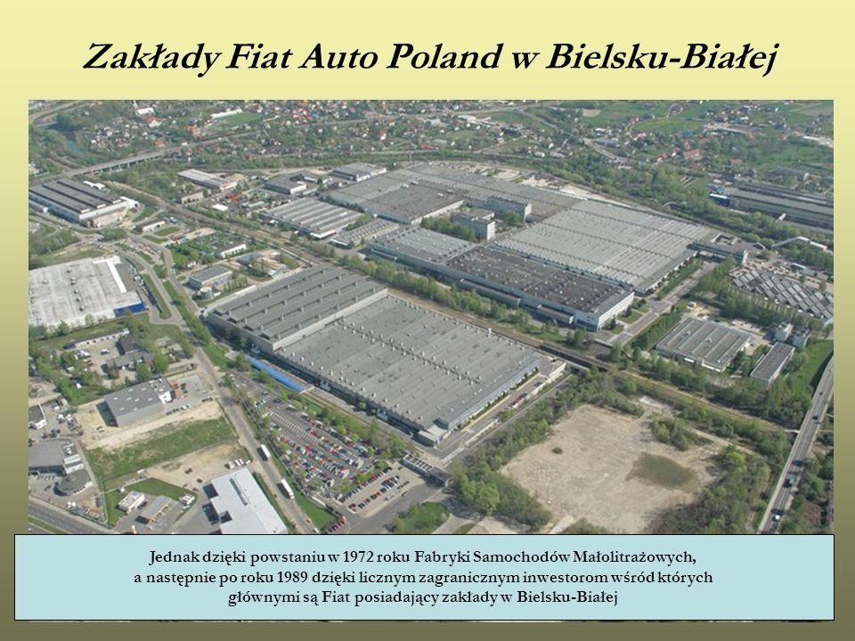 Zakłady Fiat Auto Poland w Bielsku-Białej