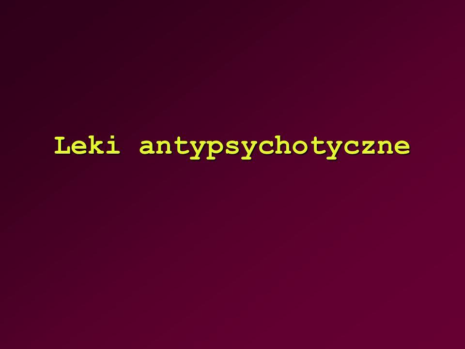 Leki antypsychotyczne