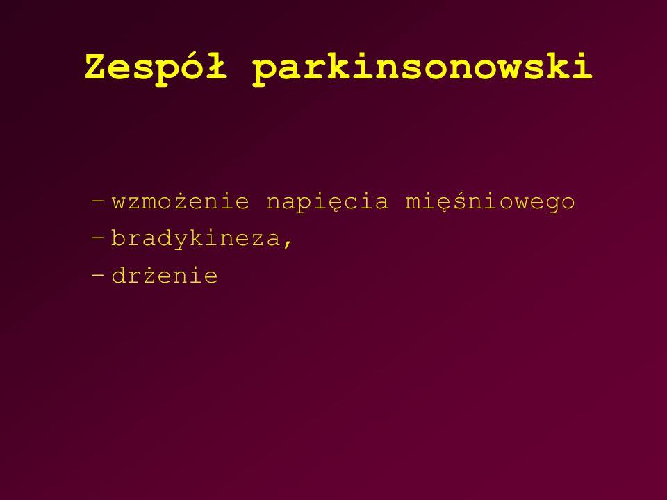 Zespół parkinsonowski