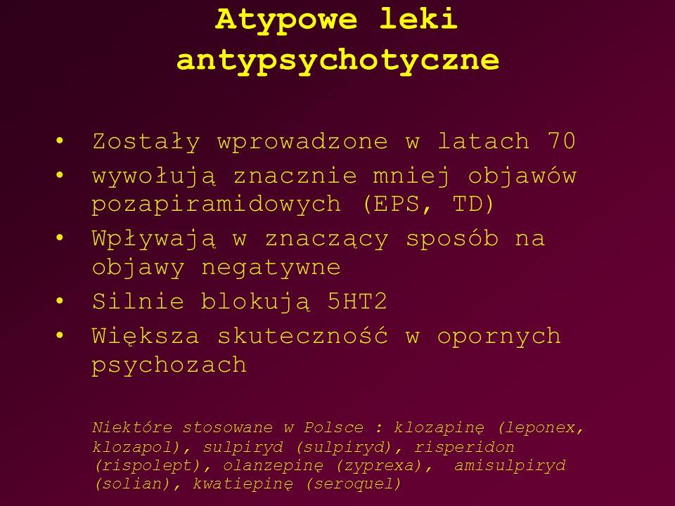 Atypowe leki antypsychotyczne