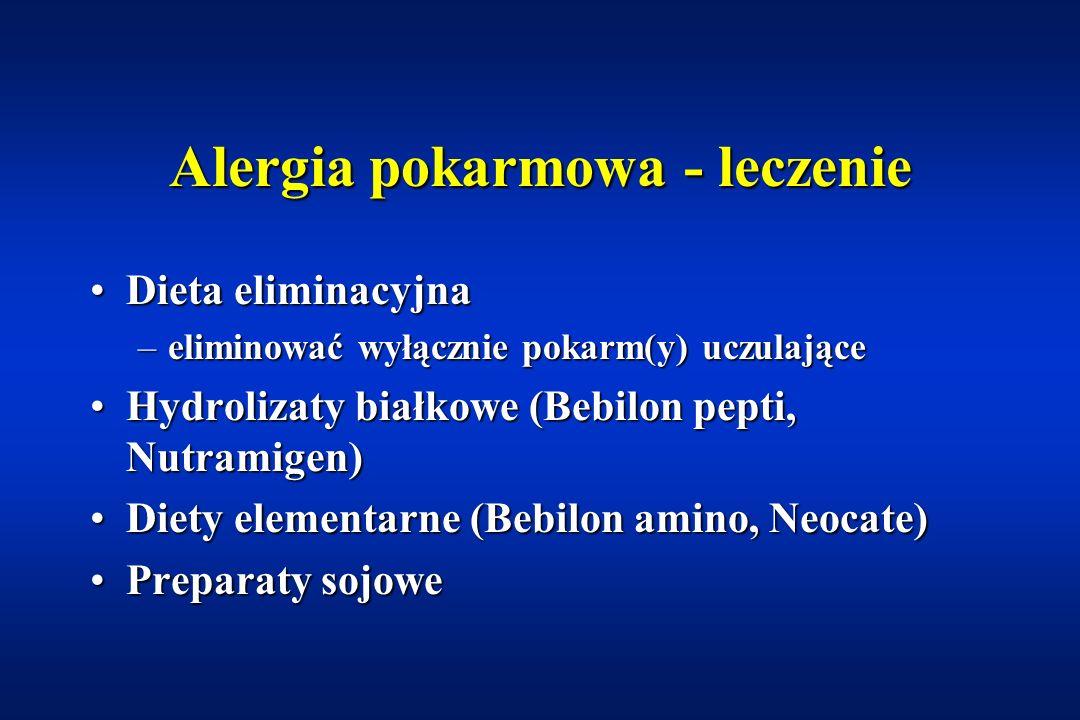 Alergia pokarmowa - leczenie