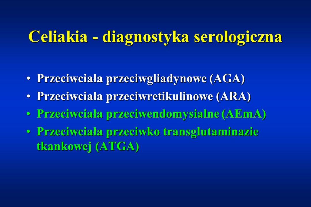 Celiakia - diagnostyka serologiczna