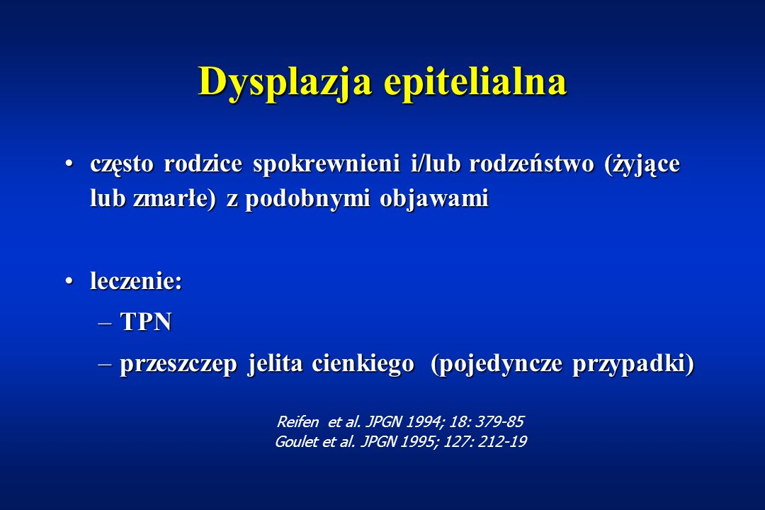 Dysplazja epitelialna