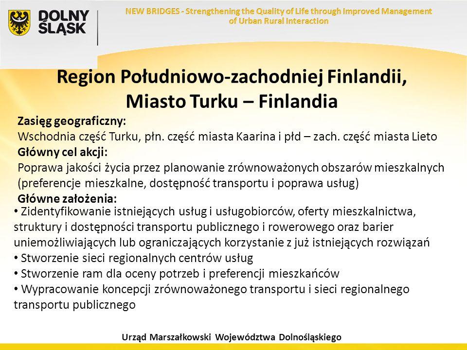 Region Południowo-zachodniej Finlandii, Miasto Turku – Finlandia