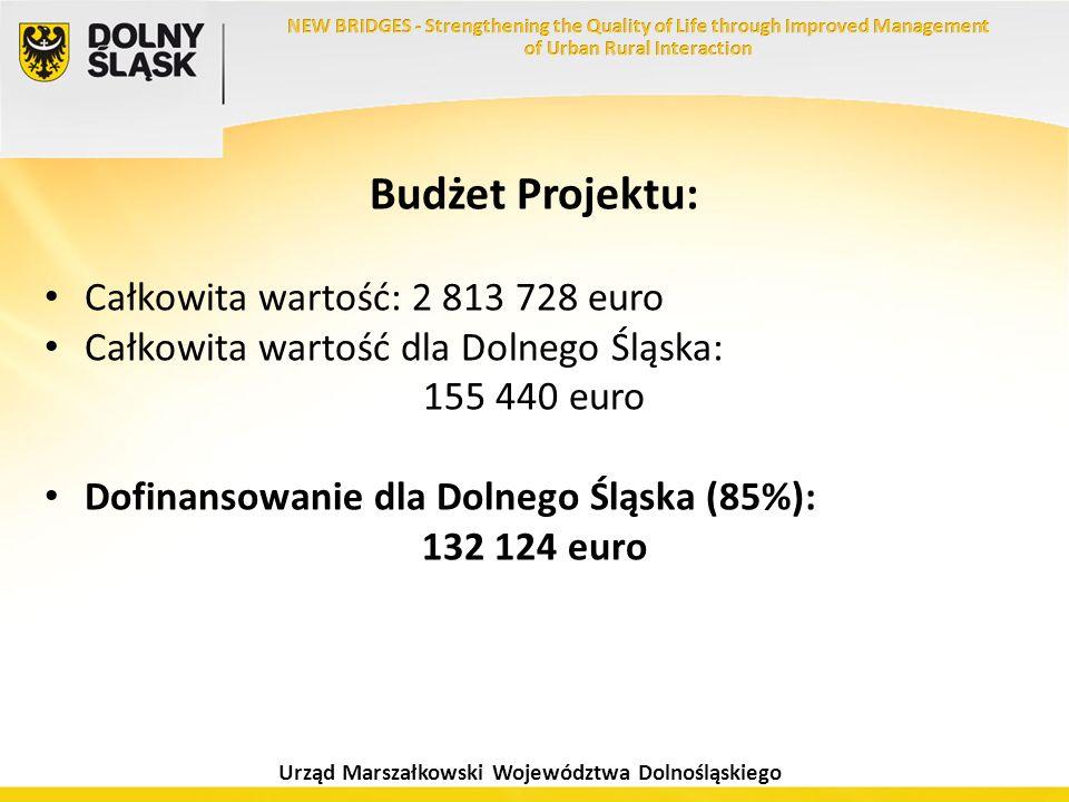 Budżet Projektu: Całkowita wartość: 2 813 728 euro