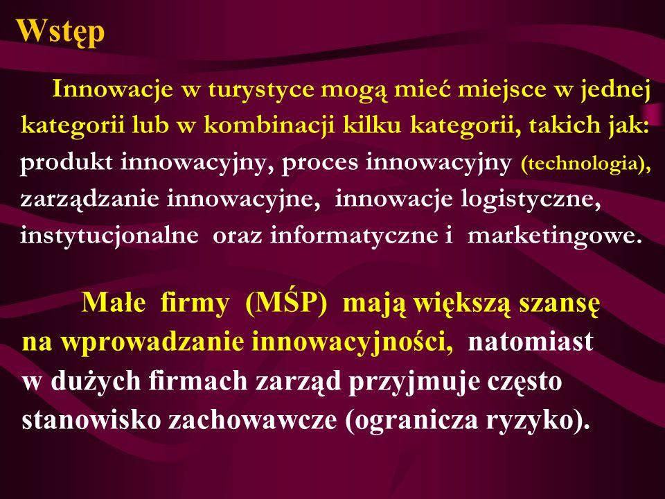 Wstęp Małe firmy (MŚP) mają większą szansę