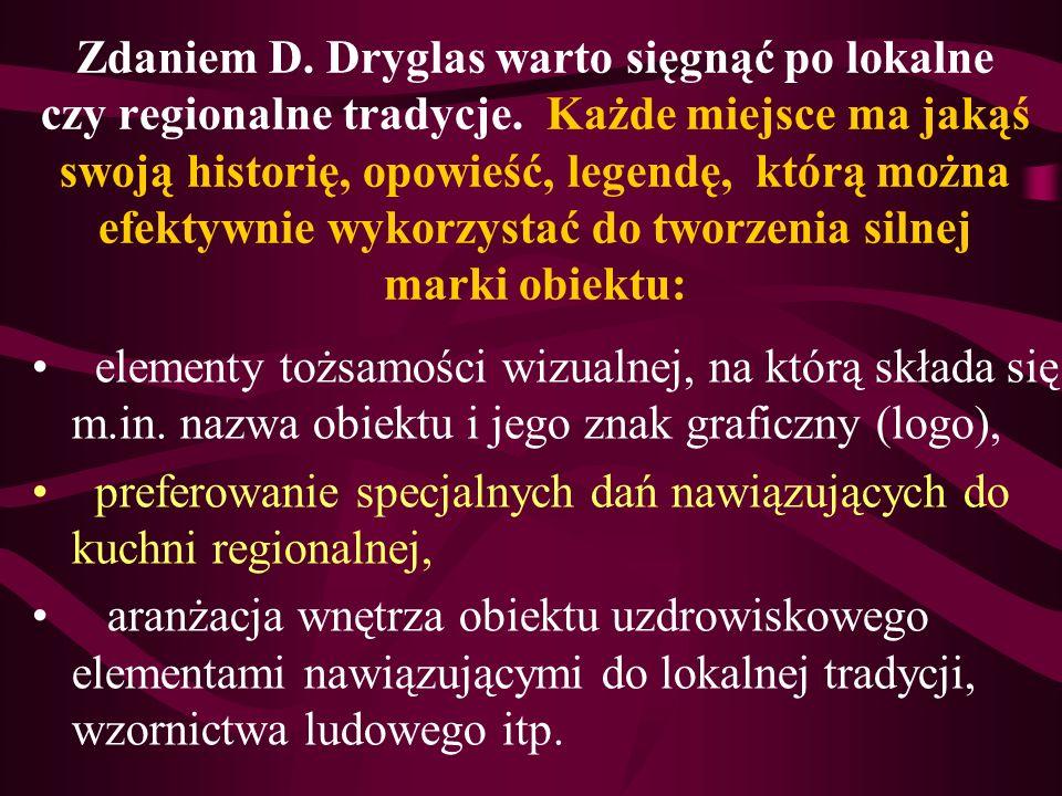 Zdaniem D. Dryglas warto sięgnąć po lokalne czy regionalne tradycje