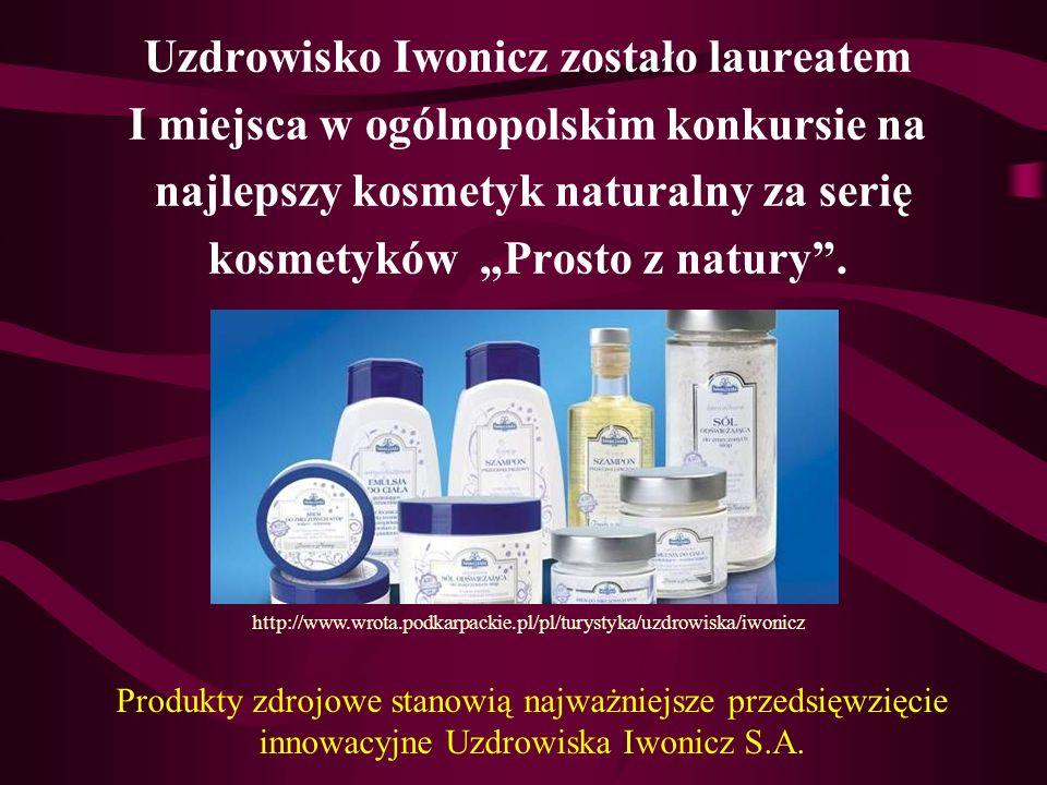 Uzdrowisko Iwonicz zostało laureatem