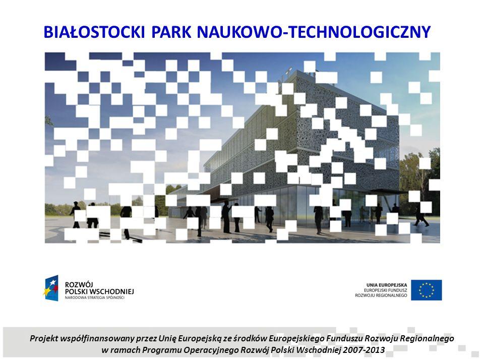 w ramach Programu Operacyjnego Rozwój Polski Wschodniej 2007-2013